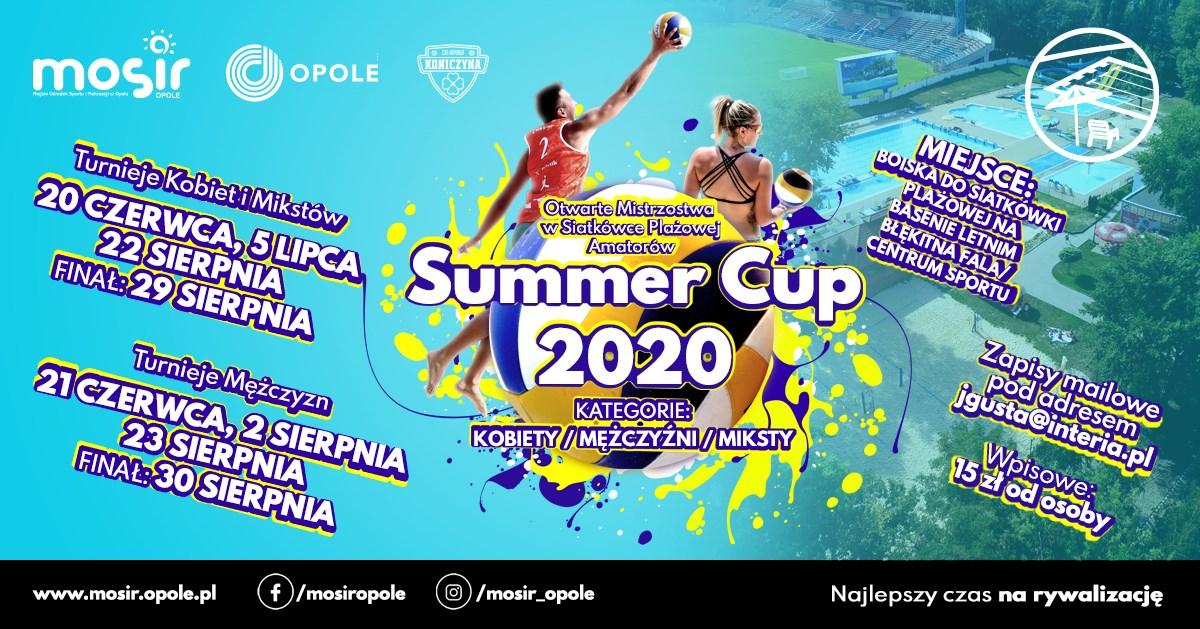 II Turniej Summer Cup 2020 w Kategorii Męskiej